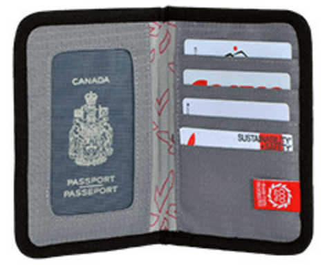Secure Passport Wallet | Recycled |