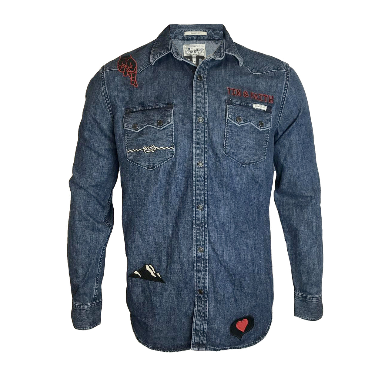 The Rest Of Our Life Unisex Denim Shirt