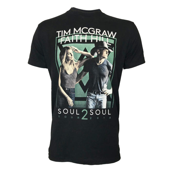 Soul2Soul 2018 Tour Black Photo T-Shirt