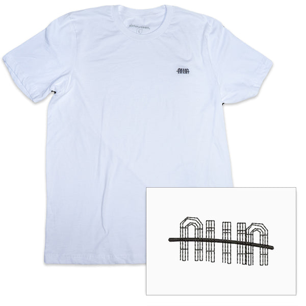 fairgrounds icon white t shirt