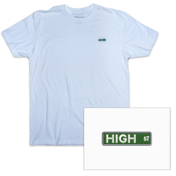 high street icon white t shirt