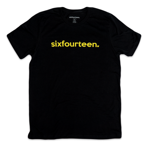 classic t shirt black and gold
