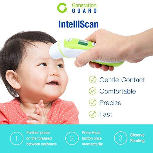 Clinical Ear and Forehead Thermometer