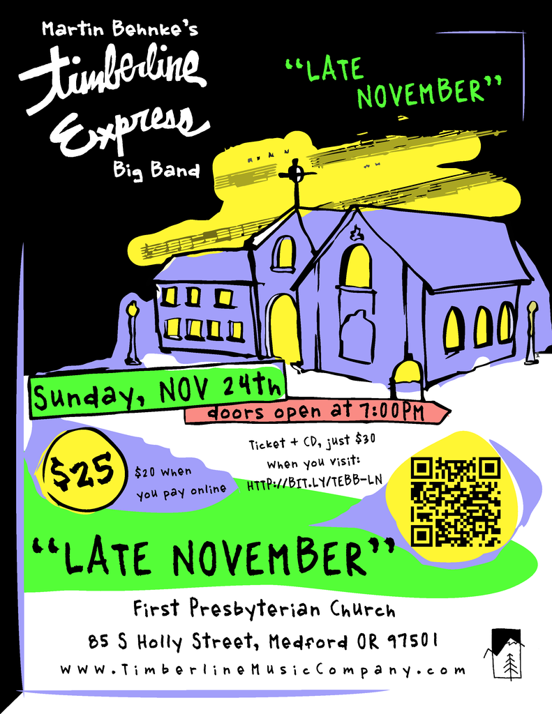 November 24th - Timberline Express Plays at First Presbyterian Church