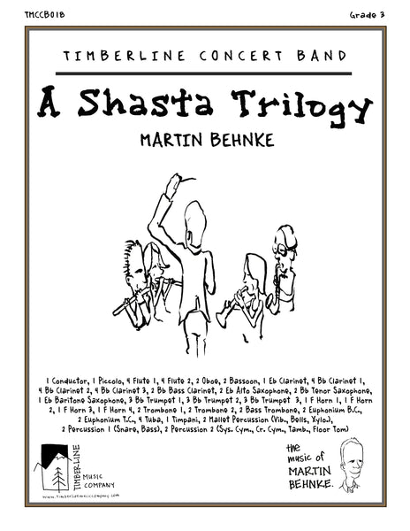 A Shasta Trilogy Full Score and Parts
