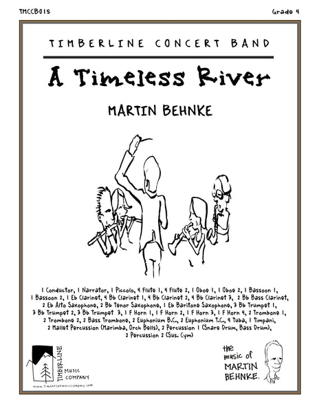 A Timeless River Full Score and Parts