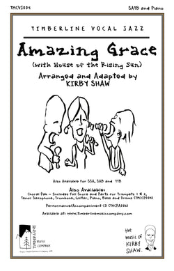 Amazing Grace (with House of the Rising Sun) SATB and Piano Octavo