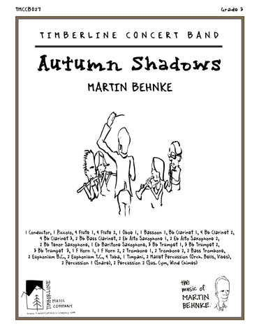 Autumn Shadows Full Score and Parts