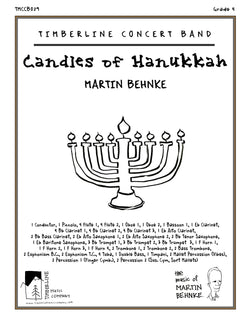 Candles of Hanukkah Full Score and Parts