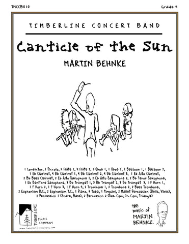 Canticle of the Sun Full Score