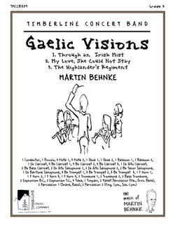 Gaelic Visions Full Score and Parts