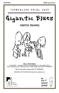 Gigantic Blues SATB and Piano Octavo