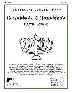 Hanukkah, O Hanukkah Full Score and Parts