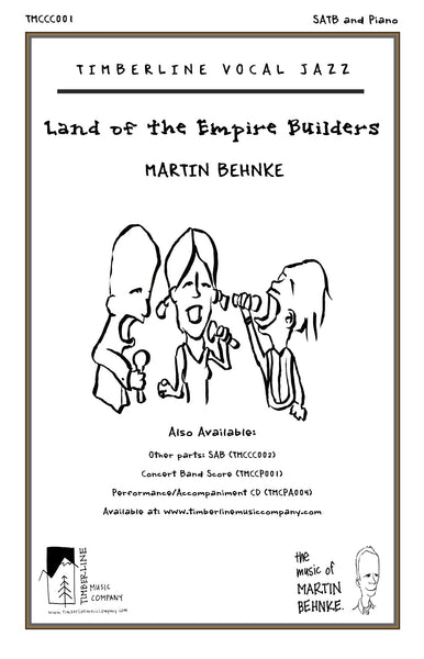 Land of the Empire Builders SATB and Piano Octavo