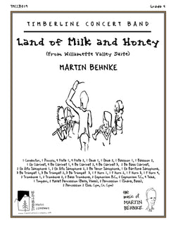 Land of Milk and Honey Full Score and Parts