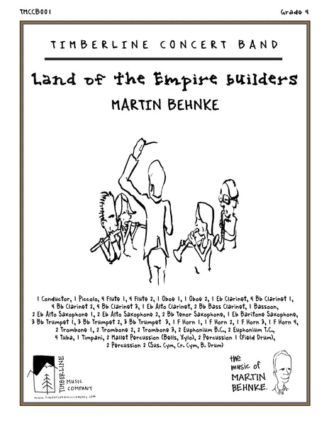Land of the Empire Builders Full Score and Parts
