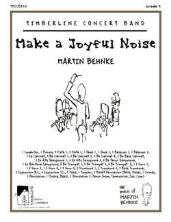 Make a Joyful Noise Full Score