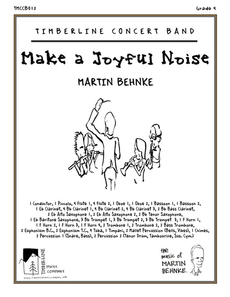Make a Joyful Noise Full Score and Parts