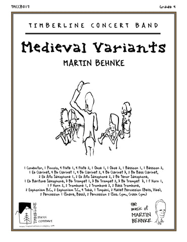Medieval Variants Full Score and Parts