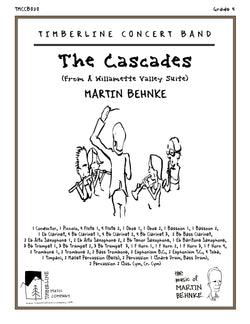 The Cascades Full Score and Parts
