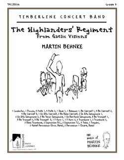 The Highlanders' Regiment Full Score and Parts
