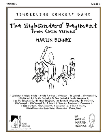 The Highlanders' Regiment Full Score