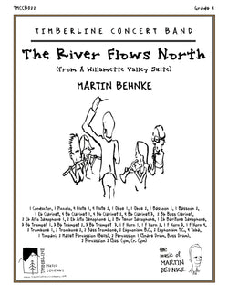 The River Flows North Full Score and Parts