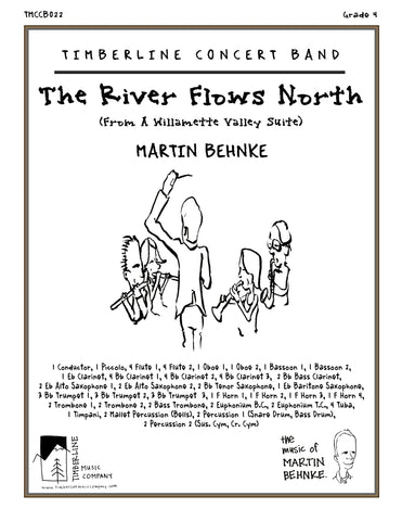 The River Flows North Full Score