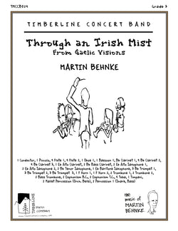 Through an Irish Mist Full Score and Parts