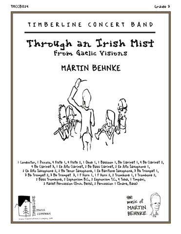 Through an Irish Mist Full Score