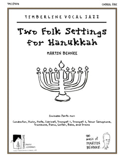 Two Folk Settings for Hanukkah Choral Full Score