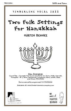 Two Folk Settings for Hanukkah SATB and Piano Octavo
