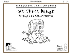 We Three Kings Full Score and Parts