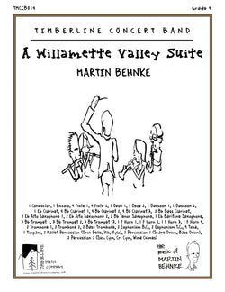 A Willamette Valley Suite Full Score and Parts