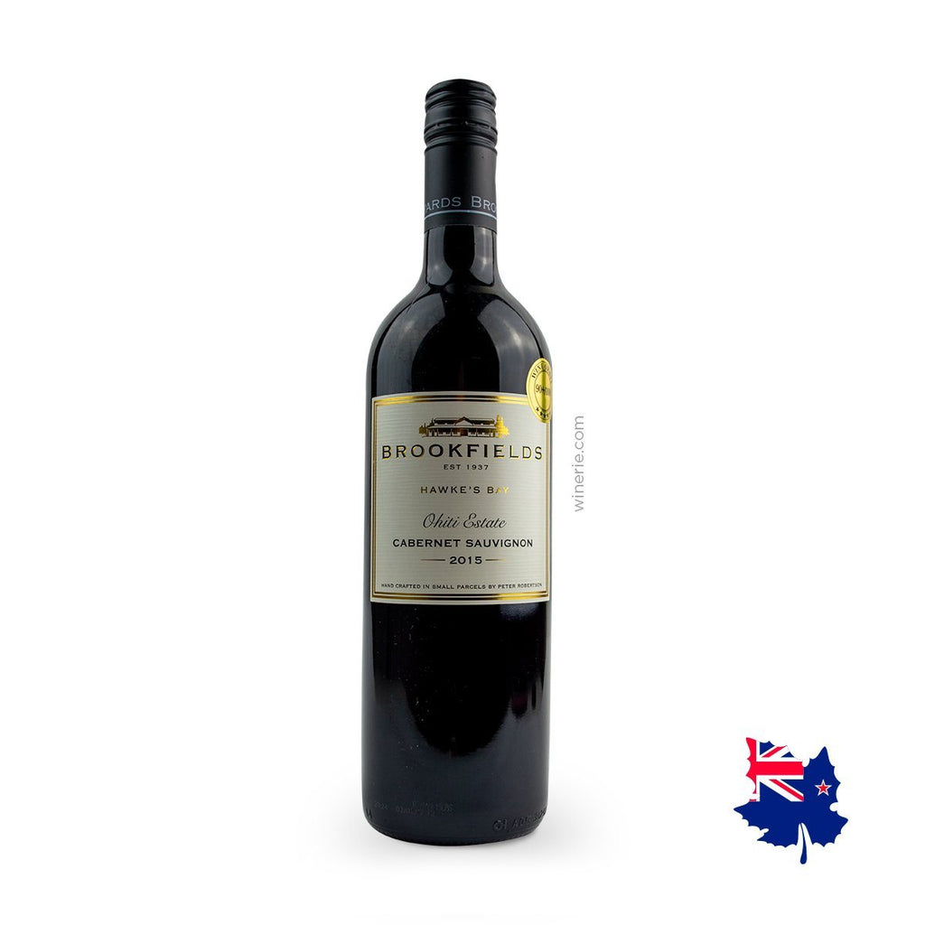 BROOKFIELDS OHITI ESTATE CABERNET SAUVIGNON 2015 750ML