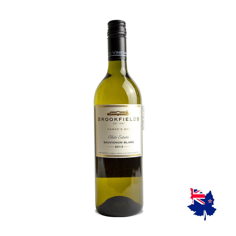 Brookfields Ohite Estate Sauvignon Blanc 2013 750 ml