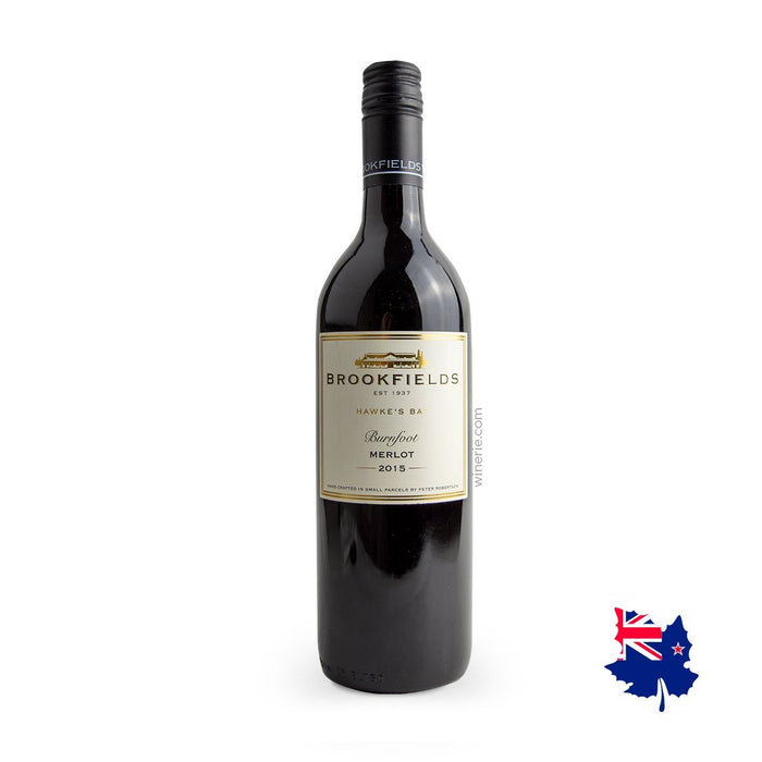 Brookfields Burnfoot Merlot 2015 750ml