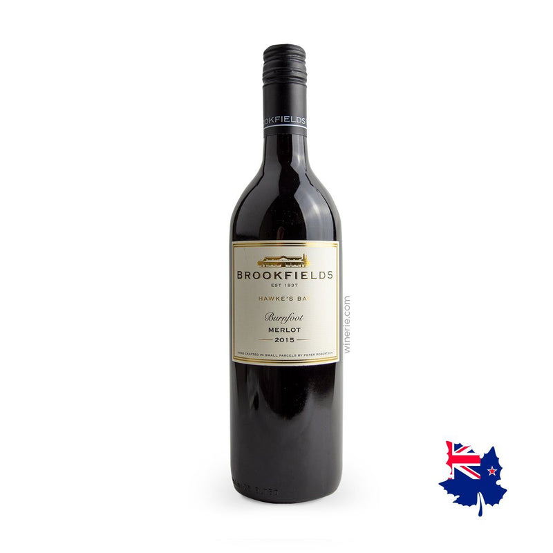 Brookfields Burnfoot Merlot 2015 750 ml