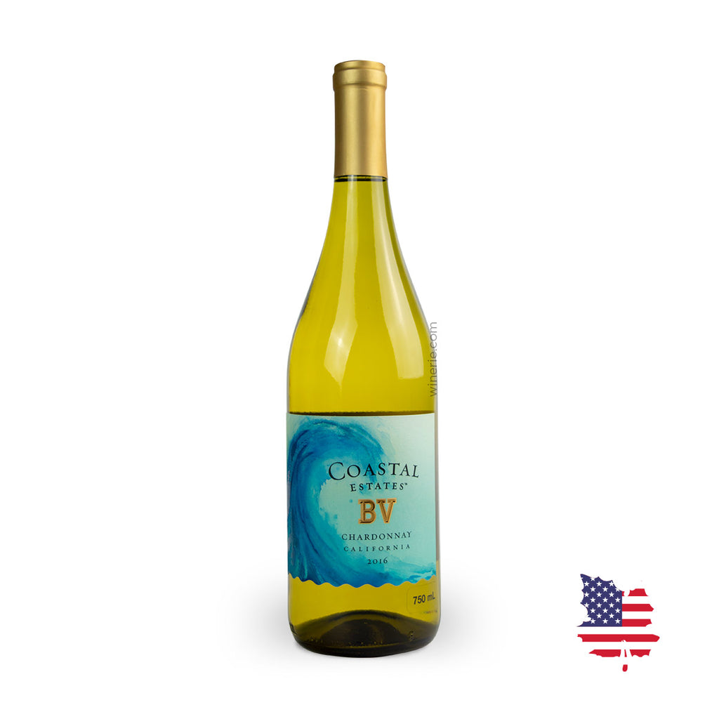 BV COASTAL ESTATES CHARDONNAY 2016 750ML