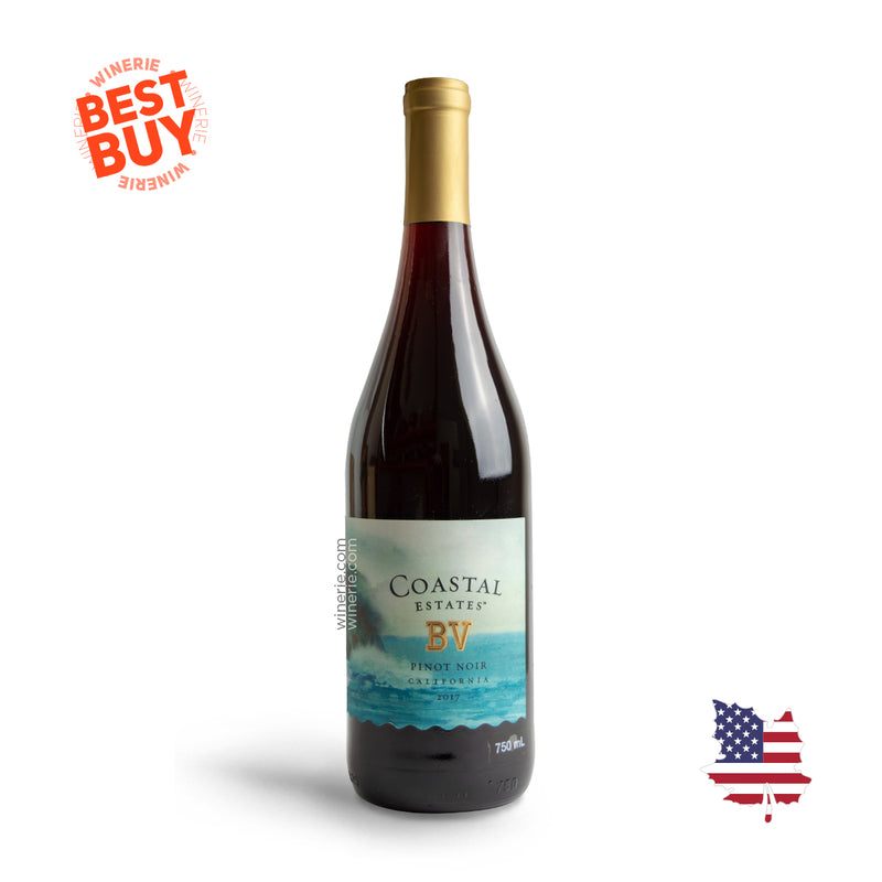 BV Coastal Estates Pinot Noir 2017 750 ml