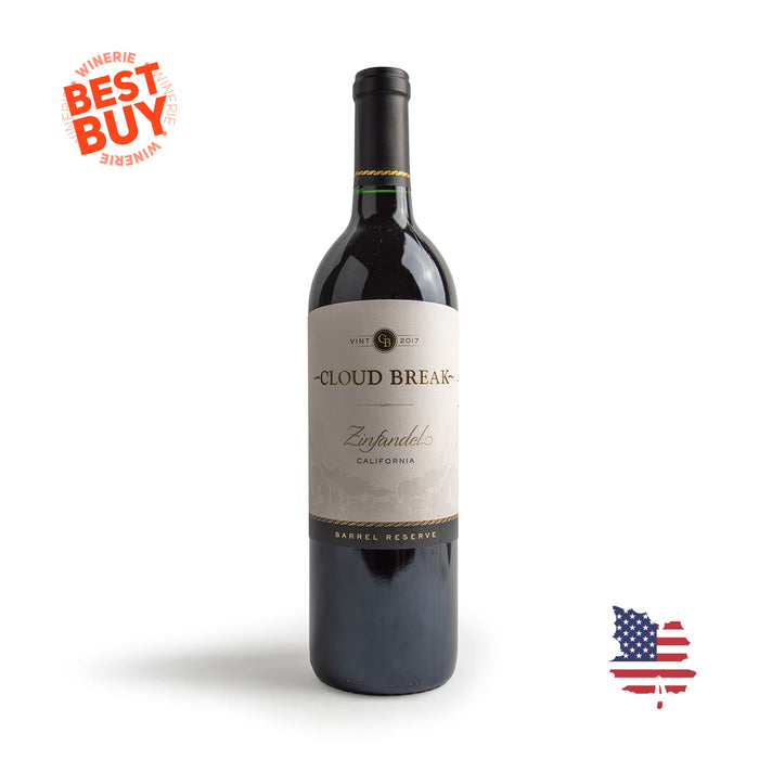 Cloud Break Barrel Reserve Zinfandel 2017 750ml