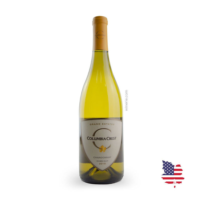 COLUMBIA CREST CHARDONNAY GRAND ESTATES 2015 750ML