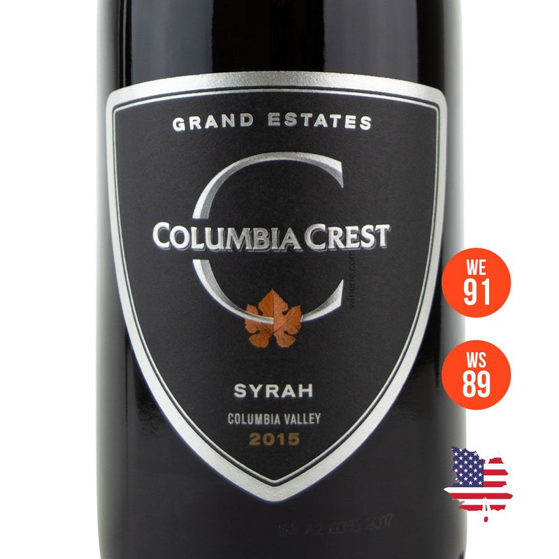 COLUMBIA CREST SYRAH GRAND ESTATES 2015 750ML