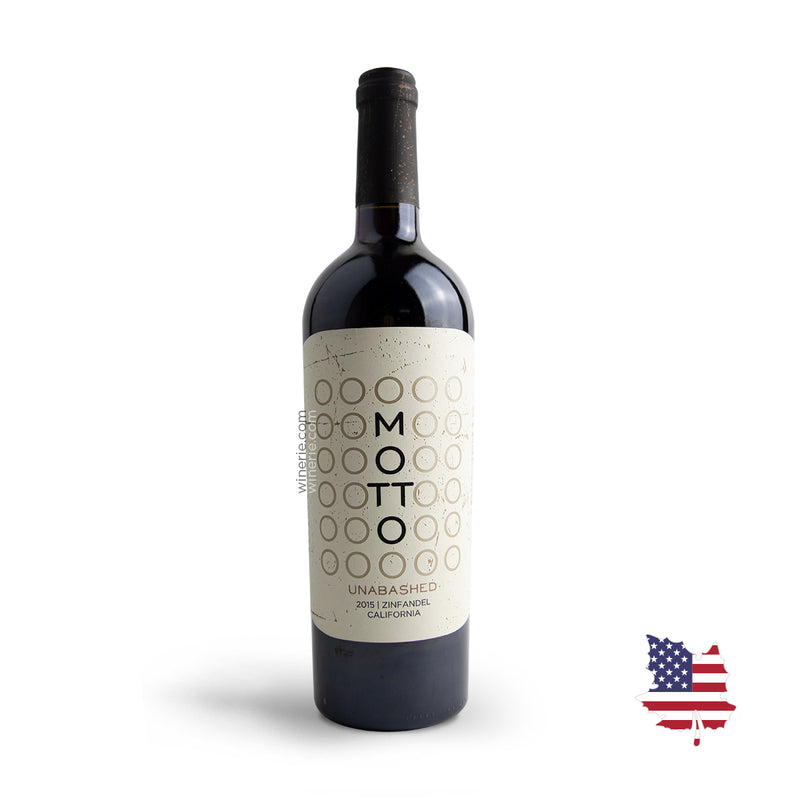 Motto Unabashed Zinfandel 2015 750ml
