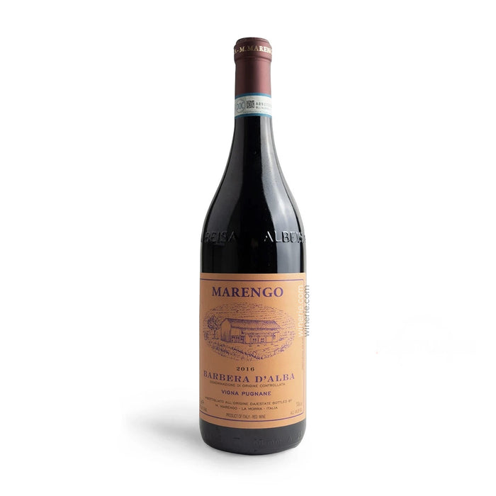 M. Marengo Pugnane Barbera d Alba DOC 2016 750ml