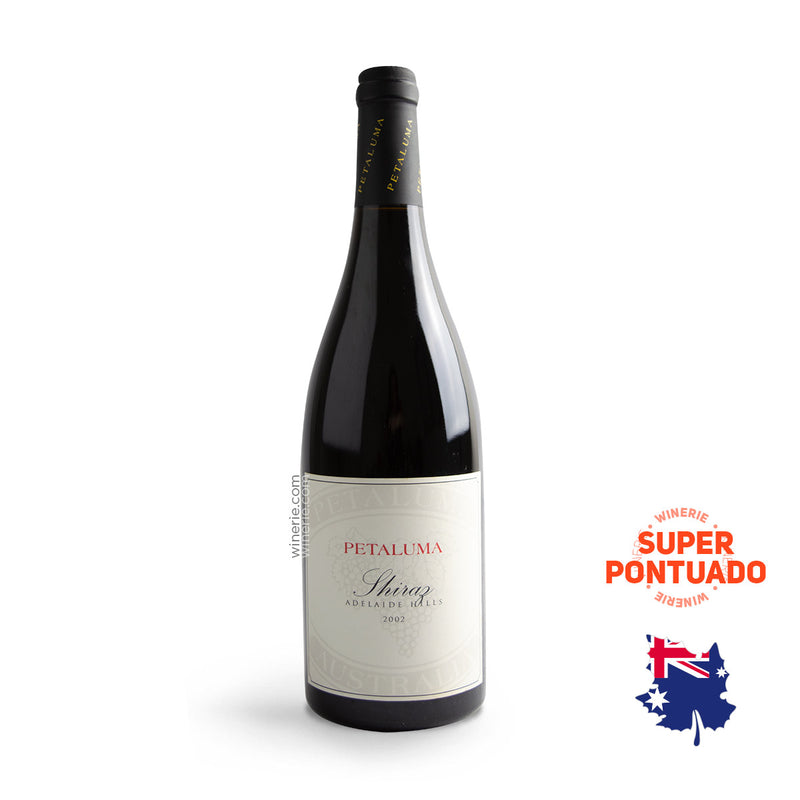 PETALUMA SHIRAZ 2002 750ML