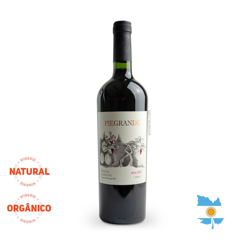 PIEGRANDE MALBEC 2018 750ML