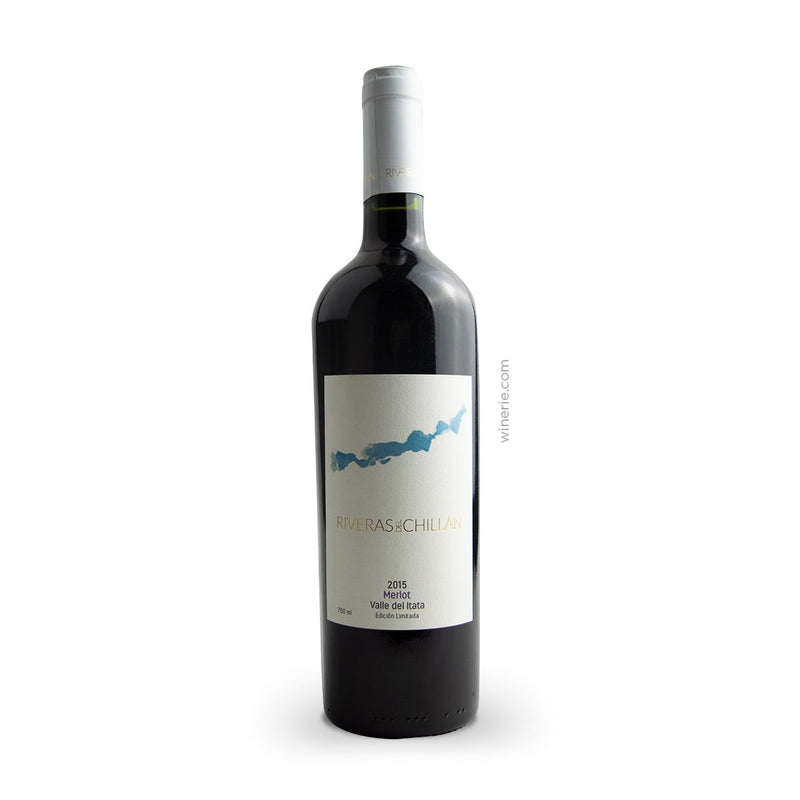 Riveras del Chillan Merlot 2015 750ml