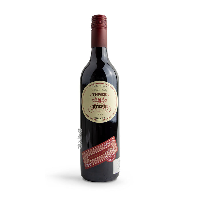 Three Steps Premium Shiraz 2014 750ml