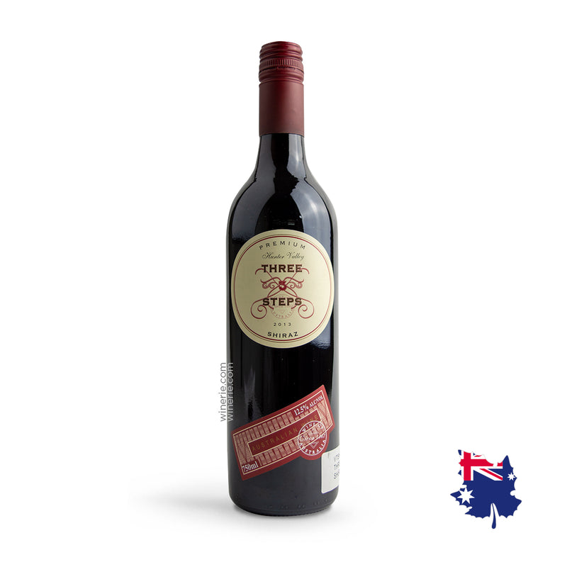 Three Steps Premium Shiraz 2013 750ml